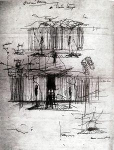 A treia țeapă, 1979, schiță
