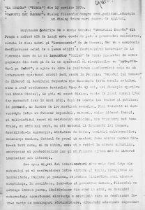 Alberto Blandi, Nepotul lui Rameau, dialog filozofic despre artă, politică, educație - un dialog între mari jocuri de oglinzi - La Stampa (Presa) 19 aprilie 1970, sursa material: Teatrul Bulandra