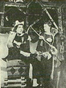 Bertoldo la curte de Massimo Dursi regia Valeriu Moisescu 1963 Teatrul de Stat Ploiesti