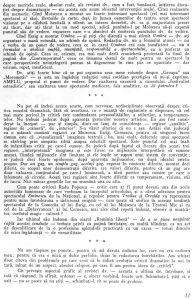 """Lucian Pintilie, """"Critica este o specie a literaturii, nu a gazetăriei"""", în Teatrul, nr. 10 / 1965, p. 11"""