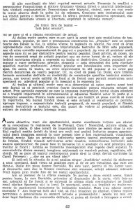 """Valeriu Moisescu, """"...Dar eu am văzut idei"""", în Teatru, nr. 10 / 1963, p. 63"""