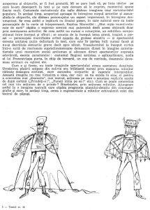 """Valeriu Moisescu, """"...Dar eu am văzut idei"""", în Teatru, nr. 10 / 1963, p. 65"""