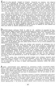 """Valeriu Moisescu, """"...Dar eu am văzut idei"""", în Teatru, nr. 10 / 1963, p. 66"""
