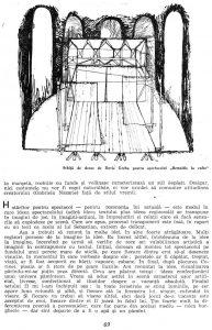 """Valeriu Moisescu, """"...Dar eu am văzut idei"""", în Teatru, nr. 10 / 1963, p. 69"""
