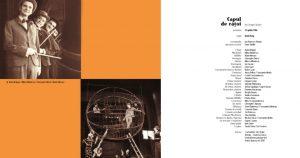 Spectacolul Capul de răţoi de George Ciprian, catalog aniversar