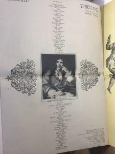 Caiet program Tartuffe si Cabala bigotilor