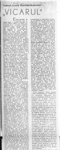 """Contemporanul, 25.02.1972, """"Vicarul"""", Dinu Kivu"""