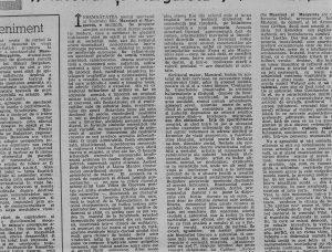 Cronică de Valentin Silvestru, publicată în revista România Literară, 11 decembrie, 1980 (1)