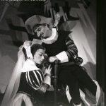 Cyrano de Bergerac de Edmond Rostand, regia Valeriu Moisescu, 1960, Teatrul de Stat Oradea - secţia română (sursa foto: https://www.teatrulreginamaria.ro/ro/trupa-iosif-vulcan/arhiva/304-spectacole/stagiunea-1959-1960/1670-cyrano-de-bergerac)
