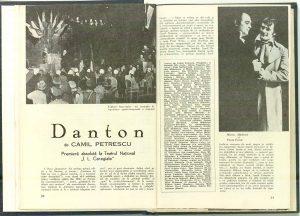 Danton de Camil Petrescu