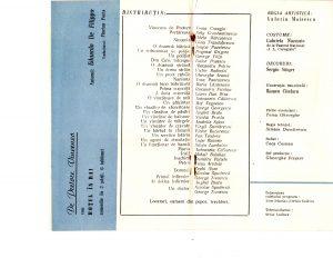 """De Pretore Vincenzo de Eduardo de Filippo, regia Valeriu Moisescu, 1962, Teatrul de Stat Ploiești, sursa Arhiva Teatrului """"Toma Caragiu"""" din Ploiești"""