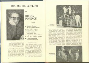 Dialog de atelier cu Horea Popescu