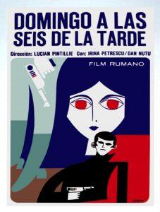 Duminica la ora 6, 1965, Lucian Pintilie, afiș Spania, sursă cinemagia.ro