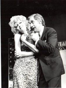 """Ea în Comedie de modă veche de Aleksei Nokolaevici Arbuzov, regia Mihai Berechet, Teatrul Național """"I. L. Caragiale"""" - București, 1975"""
