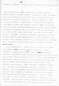 Enrico Mazzuoli, Diderot al românilor - Il Giornale D'Italia 20-21 aprilie 1970, sursa material: Teatrul Bulandra
