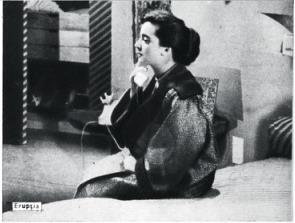 Lica Gheorghiu, Eruptia, 1957