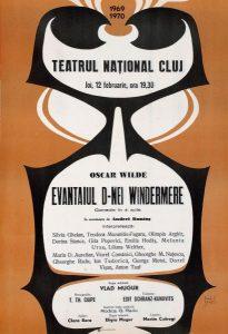 Evantaiul doamnei Windermere, regia Vlad Mugur, 1970, Teatrul National Cluj-Napoca