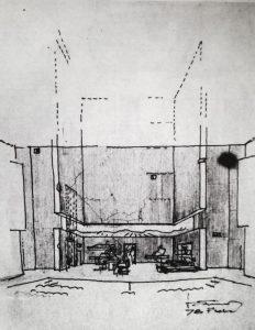 Generoasa fundație, 1978, schiță