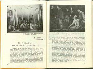 Horea Popescu, Dialogul trecutului cu prezentul
