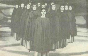 Ifigenia in Aulis, regia Vlad Mugur, 1966, Teatrul Lucian Blaga Cluj - Napoca
