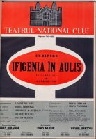 Ifigenia in Aulis, regia Vlad Mugur, 1966, Teatrul National Cluj-Napoca