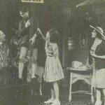 "Jocul de-a vacanța de Mihail Sebastian, regia Valeriu Moisescu, 1964, Teatrul ""Lucia Sturdza Bulandra"" (sursa foto: Teatrul, nr. 3 / 1964)"