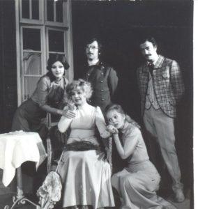 Livada cu visini - scena de grup, 1979