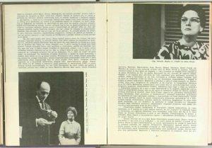 Mira Iosif despre Doi pe un Balansoar, 1965