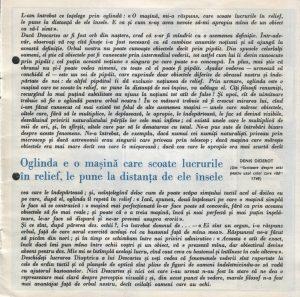 Nepotul lui Rameau, Regia David Esrig, Teatrul Bulandra, 1968, pag. 1
