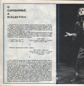 Nepotul lui Rameau, Regia David Esrig, Teatrul Bulandra, 1968, pag. 4