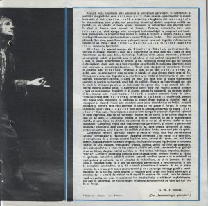 Nepotul lui Rameau, Regia David Esrig, Teatrul Bulandra, 1968, pag. 5