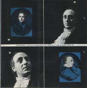 Nepotul lui Rameau, Regia David Esrig, Teatrul Bulandra, 1968, pag. 6