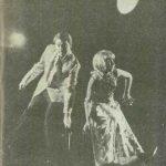 """Nu sunt Turnul Eiffel de Ecaterina Oproiu, regia Valeriu Moisescu, 1966, Teatrul """"Lucia Sturdza Bulandra"""" (sursa foto: Teatrul, nr. 7 / 1966)"""