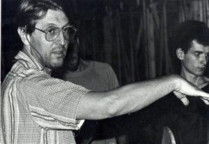 Secvență din spectacolul O trilogie antică, regia Andrei Șerban, 1990, TNB, sursă foto:Cristina Modreanu