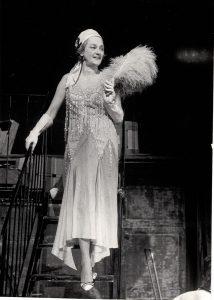 Olga Tudorache, poza preluată de pe ilincaurmuzache.wixsite.com din arhivele Teatrului Mic