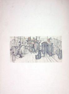 Desene de scenografie