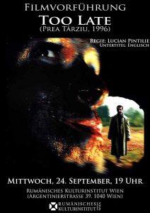 Prea târziu, 1996, Lucian Pintilie, varianta 1, sursa cinemagia.ro