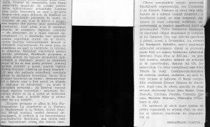 """O patetică dezbatere despre om, viață și moarte """"VICARUL"""" la teatrul """"Bulandra"""", Sebastian Costin, revista Cultului Mozaic, 1972"""