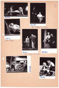 Rinocerii, regia Lucian Giurchescu, arhiva Teatrului de Comedie