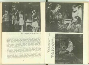 """Jocul de-a vacanța"" de Mihail Sebastian, Teatrul, 1964"