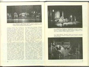 "Decorul la ""Danton"", Teatrul, 1975"