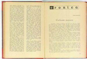Pagini de block-notes dintr-o călătorie în U.R.S.S., Revista Teatrul nr. 1, aprilie/1956