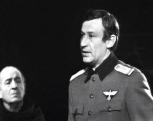 Ion Caramitru, Victor Rebengiuc în Vicarul, regia Radu Penciulescu, sursa foto: Teatrul Bulandra