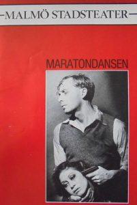 caiet program Maraton dansen, Malmo Stadsteater, malmo1