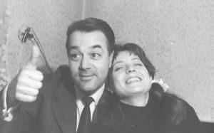 Cu soțul, Victor Anagnoste