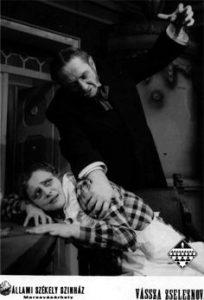 Vassa jeleznova, regia Harag Gyorgy, Targu Mures, 1957
