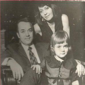 Cu soțul și fetița