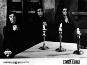 Casa Barnardei Alba, regia Harag Gyorgy, Targu Mures, 1961