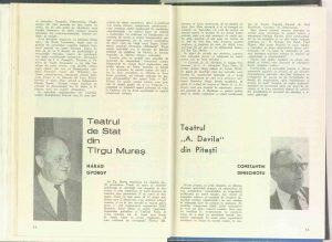 Răspuns la întrebarea: Cum vedeţi începutul stagiunii la teatrul d-voastră? revista Teatrul: Nr. 9 - 1971)