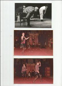 Fragmente din mai multe roluri - O lume pe scenă